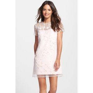 NWT Ted Baker London Findon Embellished Silk Dress